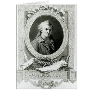 Luc de Clapiers  Marquis of Vauvenargues Card
