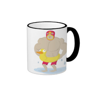Luchador Ringer Mug