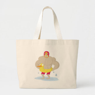 Luchador Jumbo Tote Bag