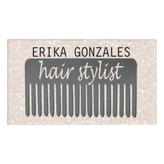 Lucida Sparkles Typography Hair Stylist & Comb