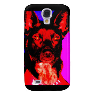 Lucifurr the Dingo Dog Galaxy S4 Case