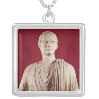 Lucius Cornelius Sulla  Orating Silver Plated Necklace