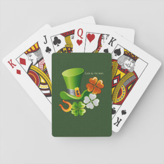 Luck of the Irish. Classic playing Cards