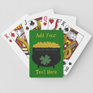 """Luck of the Irish"" Classic Playing Cards"