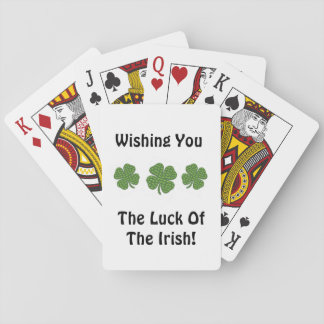 Luck of the Irish Deck of Cards