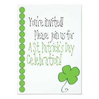Luck of the Irish invite