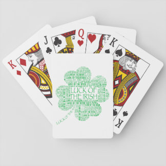 Luck of the Irish Playing Cards