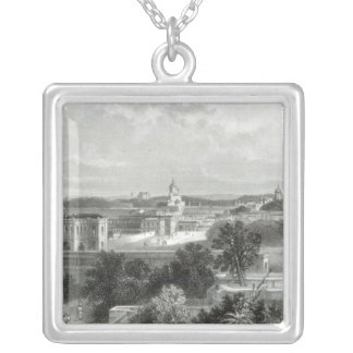 Lucknow, engraved by E.P Brandard, c.1860 Silver Plated Necklace