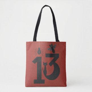Lucky #13 tote bag