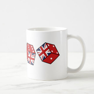 Lucky British Dice Souvenir Mug