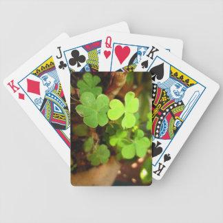 Lucky Clovers Playing Card Deck