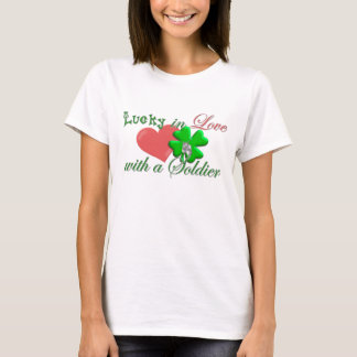 Lucky in Love Soldier T-Shirt