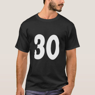 Lucky Number 3O T-Shirt