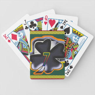 Lucky Seven Bicycle Playing Cards