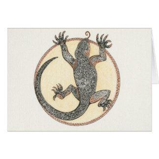 Lucky the Lizard of Sedona, Arizona Greeting Card