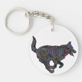 Lucky Zodiac Dog | keychain