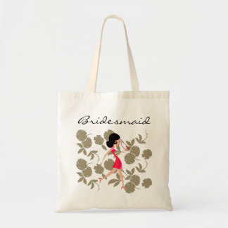 Lucy with Dragonfly/Bridesmaid Tote Bag