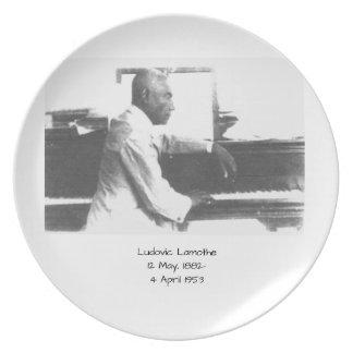 Ludovic Lamothe Plate