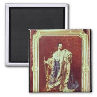 Ludwig II  1887 Magnet