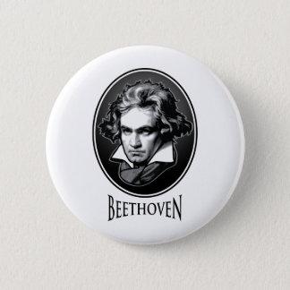 Ludwig van Beethoven 6 Cm Round Badge