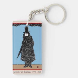 Ludwig van Beethoven Acrylic Keychain