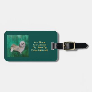 Luggage Tag Shitzu Dog