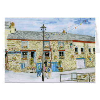 'Lugger Inn (Polruan)' Card