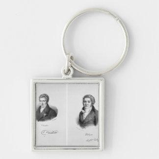 Luigi Cherubini  and Nicolas Marie Dalayrac Key Ring
