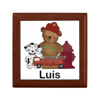 Luis' Little Fire Bear Personalized Gifts Gift Box
