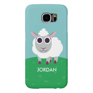 Lulu the Sheep Samsung Galaxy S6 Cases