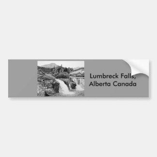 Lumbreck Falls Car Bumper Sticker