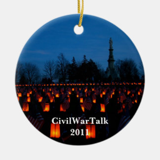 Luminary at Gettysburg Cemetery Ornament
