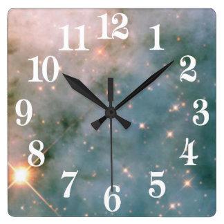 Luminous Carina Nebula Clocks