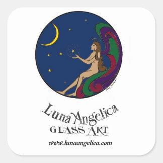 Luna Angelica Sticker