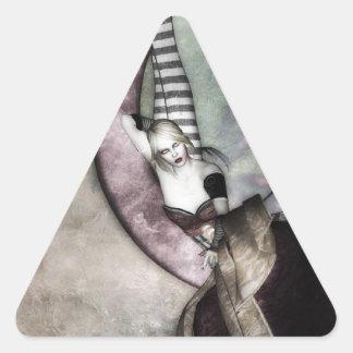 Luna Fae Triangle Sticker