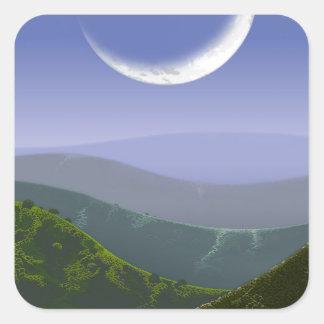 Luna High Rez.jpg Square Sticker