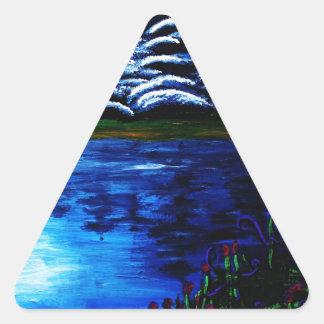 Luna Triangle Sticker