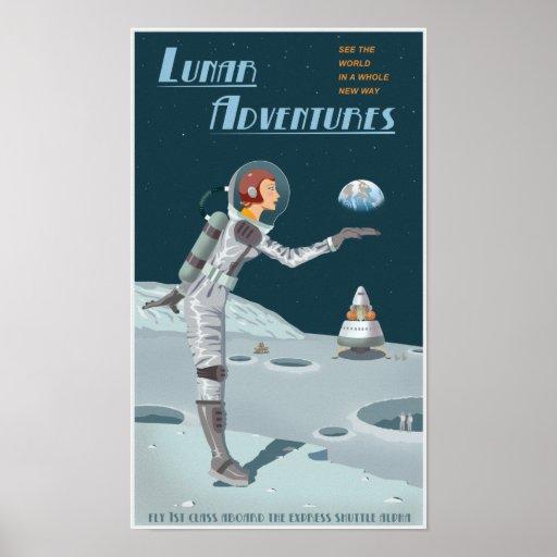 Lunar Adventures Posters