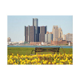 Lunch in Detroit Canvas Print