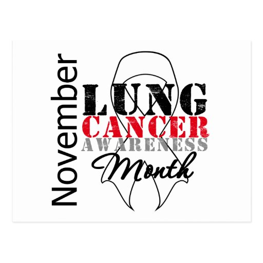 ribbon for lung cancer - cancer knowledge blog, Powerpoint templates