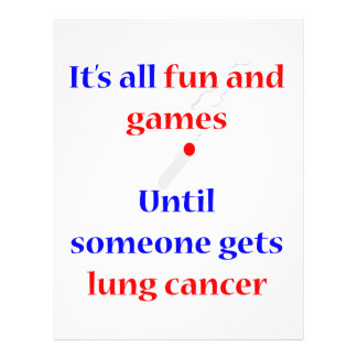 Lung Cancer Custom Flyer