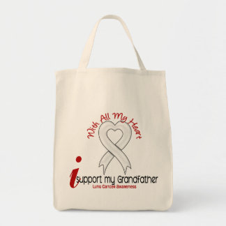 Lung Cancer I Support My Grandfather Bag