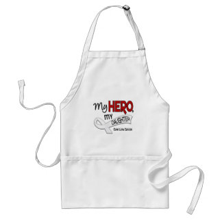 Lung Cancer MY HERO MY DAUGHTER 42 Standard Apron