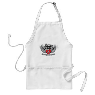 Lung Cancer Wings Standard Apron