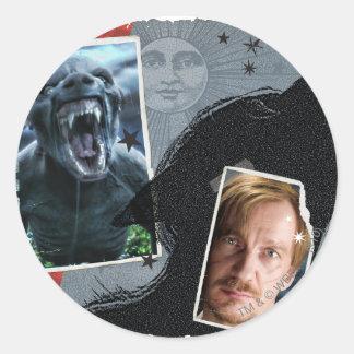 Lupin - Lycanthrope Classic Round Sticker