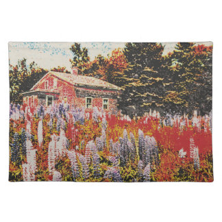 lupine placemat