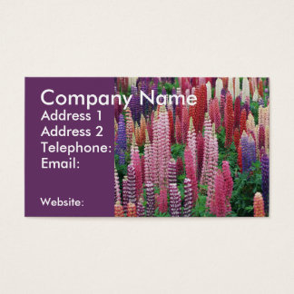 Lupins Business Card