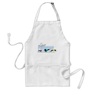 Lure Coursing Dogs Standard Apron