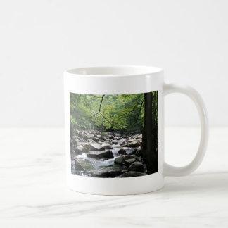 Lush, Green, Peaceful Basic White Mug