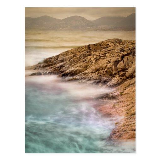 Luskentyre Beach Outer Hebrides Post Card